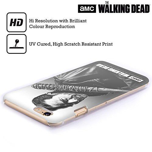 Offizielle AMC The Walking Dead Negan Gefilterte Porträts Ruckseite Hülle für Apple iPhone 6 / 6s Negan