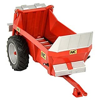 Britains 1:32 NC Rear Discharge Manure Spreader  Collectable Farm Toy Attachment  Compatible with all Britains 1:32 Vehicles  Suitable From 3 years