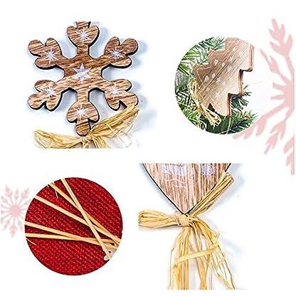 HELING-5-STCKE-Weihnachten-Holz-Durchbrochene-Buchstaben-Form-Hngen-Anhnger-Holz-Weihnachtsbaum-Liebe-Stern-Verschnerungen-Hngen-Ornamente-Dekoration-Weihnachtsbaum-Tags-Anhnger