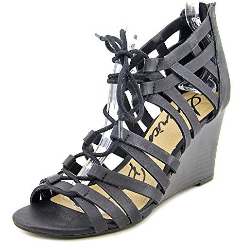 American Rag Kyle Femmes Synthétique Sandales Compensés Noir