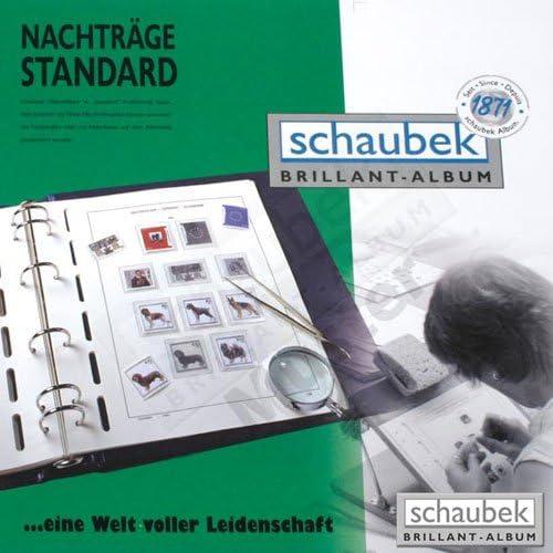 Schaubek Standard Texte Bundesrepublik 1990-2001 N 643T05N | Belle Et Charmante