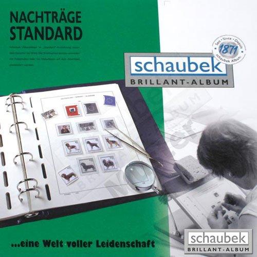 Schaubek Kopftitel Altdeutschland - 10 Blatt KT601