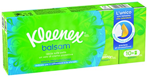 Kleenex - Fazzoletti Balsamo - 10 pezzi