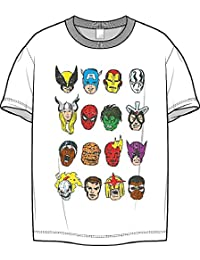 Men's Marvel Comics T Shirt 100% Cotton (Size: Medium)