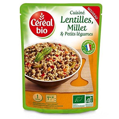 22645a2df73 Céréal Bio Lentilles Millet Légumes Doypack 250G - Livraison Gratuite Pour  Les Commandes En France -