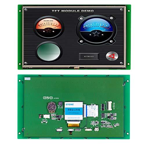 10,1 Zoll HMI Sonnenlichtlesbares Outdoor TFT LCD Modul HMI mit Steuerplatine für Industriesteuertafel -