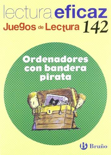 Ordenadores con bandera pirata Juego de Lectura (Castellano - Material Complementario - Juegos De