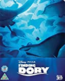 Finding Dory 3D Limited Edition Steelbook / Includes 2D Version / U.K. Release / Region Free Blu Ray