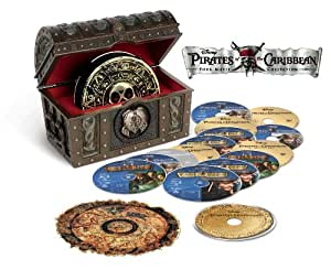 Pirates of the Caribbean Four-Movie Collection [Blu-ray] [Import anglais]