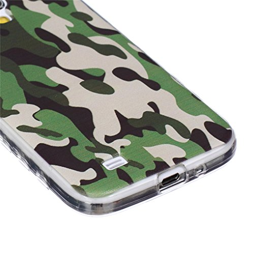 LOOKAY Samsung Galaxy S5 Coque Housse Silicone Etui Case Cover Transparent Crystal Clair Soft Gel TPU (B11) 11HUA