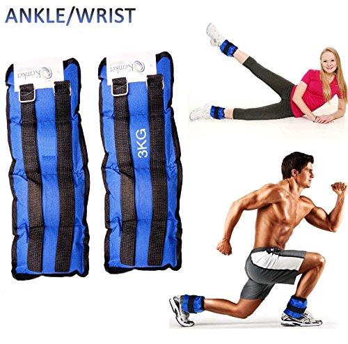 Tobillo Muñeca Pesos Funcionamiento Ejercicio muñeca ajustable Resistencia Resistente al gimnasio y fitness entrenamiento correas de velcro