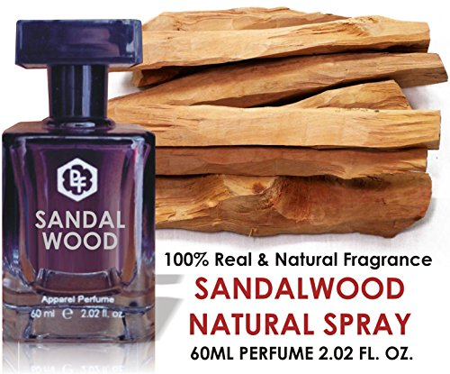 Parag Fragrances Natural Sandalwood Perfume Spray For Men & Women (60Ml)
