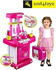Zest 4 Toyz Kitchen Set Kids Luxury Battery Operated Kitchen Super Set Toy
