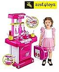 Zest 4 Toyz Kitchen Set Kids Luxury Battery Operated Kitchen Super Set Toy