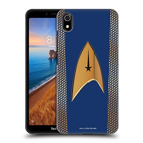 Head Case Designs Offizielle Star Trek Discovery Kommando Uniformen Harte Rueckseiten Huelle kompatibel mit Xiaomi Redmi 7A (2019) (Uniform Trek Star 2019)