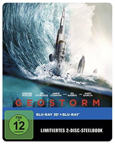 Bild von Geostorm 3D Steelbook (exklusiv bei Amazon.de) [3D Blu-ray] [Limited Edition]