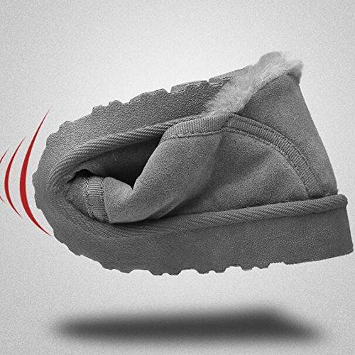 FEIFEI Scarpe da uomo Cotone per il tempo libero Inverno caldo ( Colore : 01 , dimensioni : EU39/UK6.5/CN40 ) 01