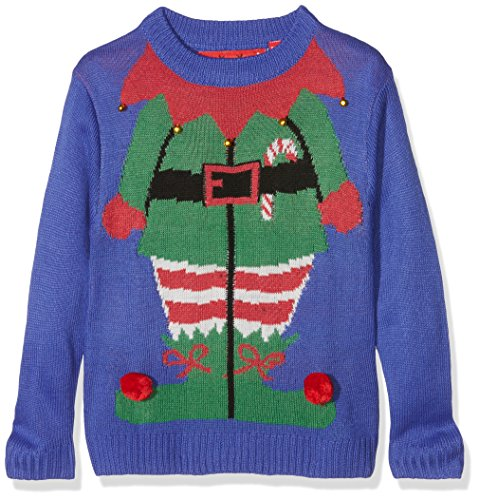 The Christmas Workshop Boy's Elf Long Sleeve Jumper