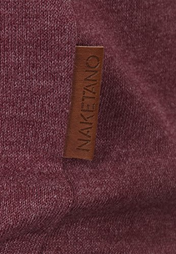 Naketano Female Shortsleeve Rose von Jericho IV Bordeaux Melange
