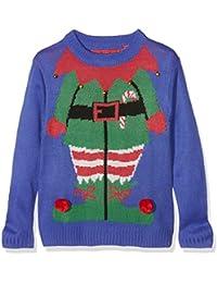 The Christmas Workshop Boy's Elf Long Sleeve Jumper