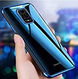 MobiTussion® Luxury Soft Transparent TPU with Camera Protection Layer Back Cover Case Compatible for Poco M2 Pro/Redmi…
