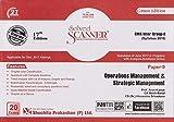 Shuchita Prakashan's Solved Scanner For CMA Inter Group - II Paper - 9 : Operations Management & Strategic Management Dec. 2017 Exam (Syllabus 2016)