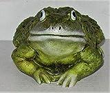 DEKO Dekofigur/Gartenfigur/Frosch/Tierfigur/Garten Kunststein/Polyresin/frostfest/Kröte