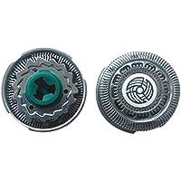 Xinvision Rellenar Reemplazo Maquinilla de afeitar Cabeza Papel de aluminio  Hoja+Cortadors para Philips S9911 d532128719ca