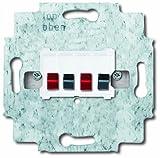 Busch-Jaeger 0248/04-101 Stereo-Lautsprecher-Anschlussdose
