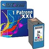 PlatinumSerie® 1x Tinten-Patrone für Lexmark 24 XL Color X3500 X 4530 X4550 Z1410 Z1420 Z1450 Z4100