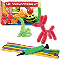 """Global Gizmos 55010 """"Classic Balloon Animal Modelling Kit including Pump Toy"""