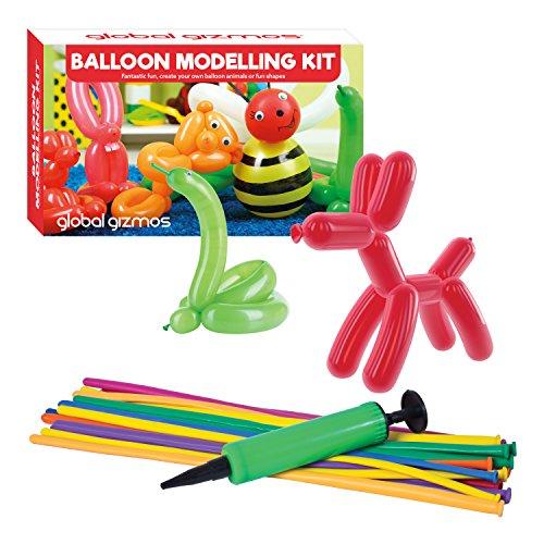 5,4cm Classic Ballon Tier Modellier Kit inkl. Pumpe Spielzeug ()
