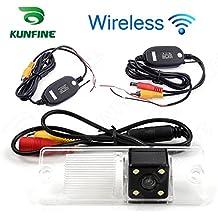 Kunfine - Cámara de visión trasera de alta definición inalámbrica, cámara de visión trasera para