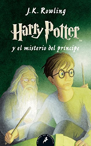 Harry Potter misterio príncipe Letras Bolsillo