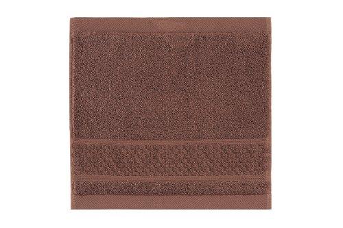 Vossen Natural Energy Face Chiffon, Cognac, Terre, 30 x 30 cm