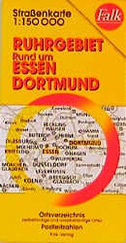 Falk Pläne, Ruhrgebiet, Rund um Essen, Dortmund (Falk Atlanten)