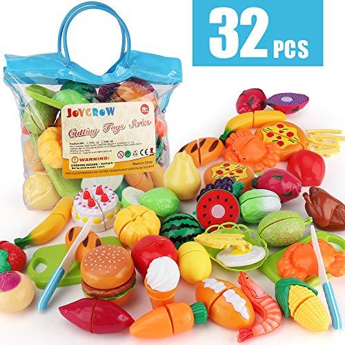 JoyGrow 32PCS Cutting Toys Play ...