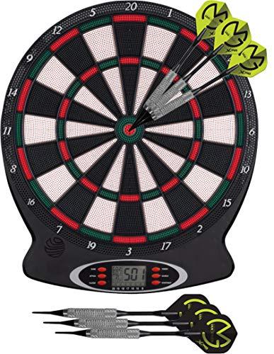 XQmax - Elektronische Dartscheibe für 1-8 Spieler 18 Spiele,