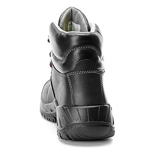 Sicurezza laccio stivali, Rubber LAURENZO Mid ESD S3, misure: 36 - 50, ELTEN Nero (nero)