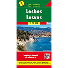 Lesbos, Autokarte 1:50.000, besondere Ausflugsziele, freytag & berndt Auto + Freizeitkarten