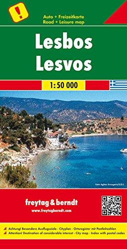 Preisvergleich Produktbild Lesbos, Autokarte 1:50.000, besondere Ausflugsziele, freytag & berndt Auto + Freizeitkarten