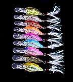 hengjia 98-fishes Crankbait Gruppe Fisch Kunstköder für Hecht Bass Forelle 9,4g