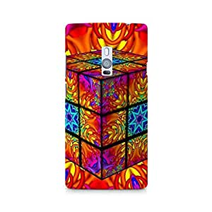 TAZindia Premium Printed Mobile Back case cover For OnePlus Two