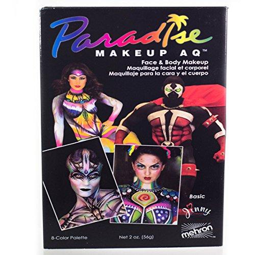 mehron Paradise Makeup AQ 8 Color Palette ()