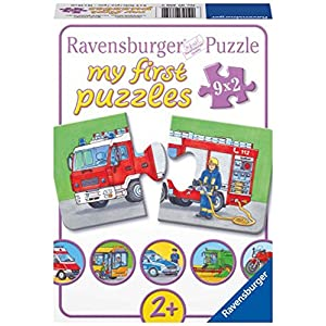 "Ravensburger 07332 0 ""Emergency Vehicles Puzzle"