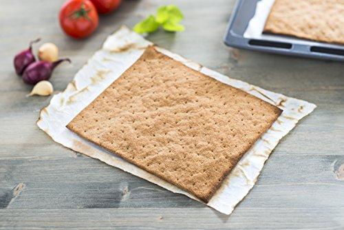 Lizza Low-Carb Pizza-Teig aus Lein-Samen und Chia-Samen. Bio. Gluten-Frei. Vegan. (8 x 180g inkl. 4 x 200ml Tomatensauce) - 2