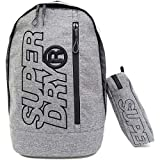 SUPERDRY Backpacks Superdry Zac Freshman Backpack Grey Marl/Black One Size