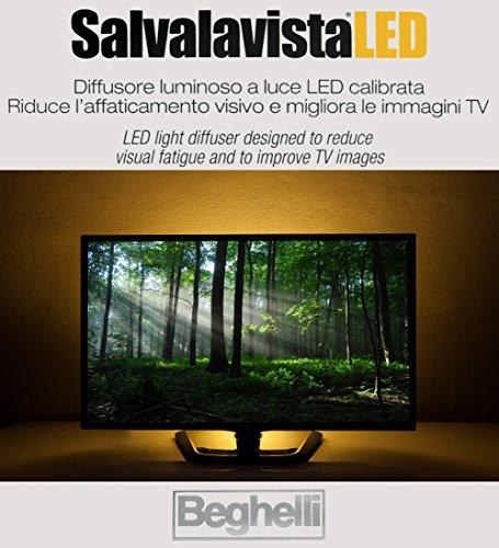 SALVALAVISTA LED BEGHELLI BACKLIGHT LUCE TELEVISIONE PROTEGGE GLI OCCHI PROTEZIONE TV DA SOVRATENSIONI / SOVRACCARICHI DI TENSIONE