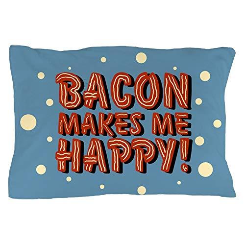Bikofhd Bacon-Makes-Me-Happy_B.Png - Standard Size Kissen Case, 20