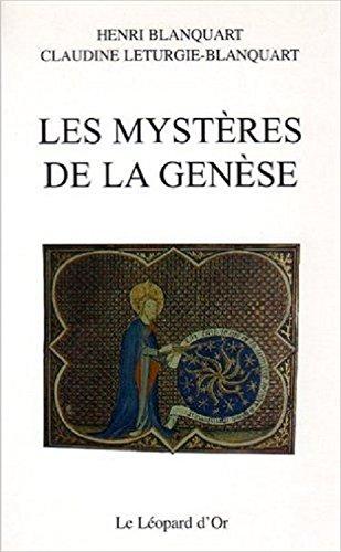Les mystères de la Genèse